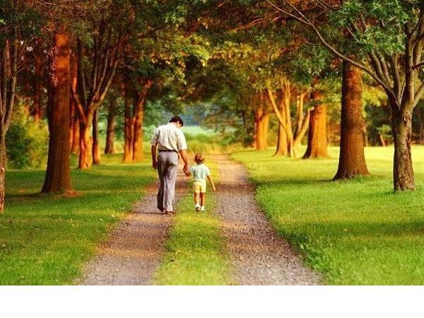 Cha và con..
