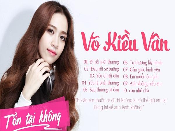 Tiểu sử ca sĩ Võ Kiều Vân