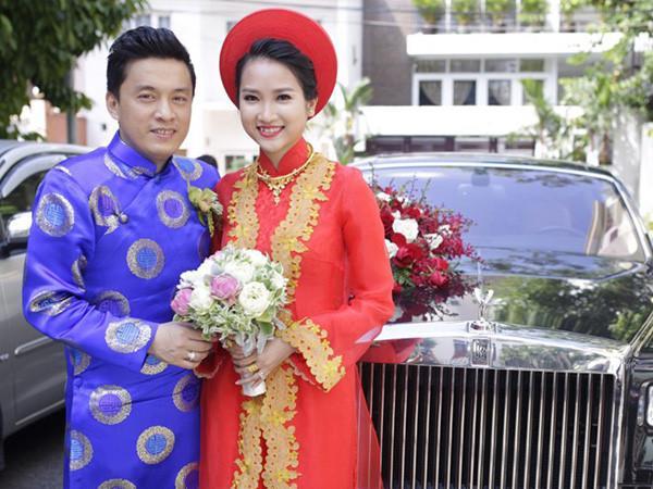 Ca sĩ Lam Trường và cô dâu Yến Phương