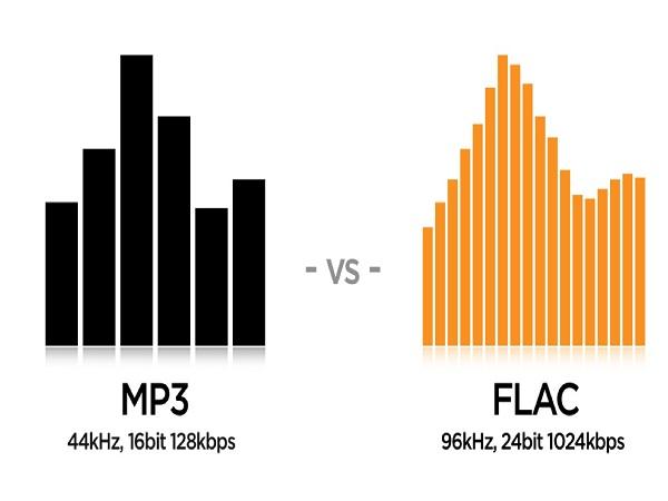 So sánh nhạc lossless và mp3