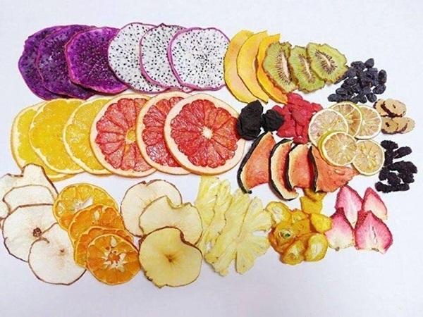 trái cây khô giảm cân