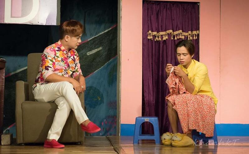 Minh Nhí chính là người thầy dẫn dắt anh vào nghệ thuật