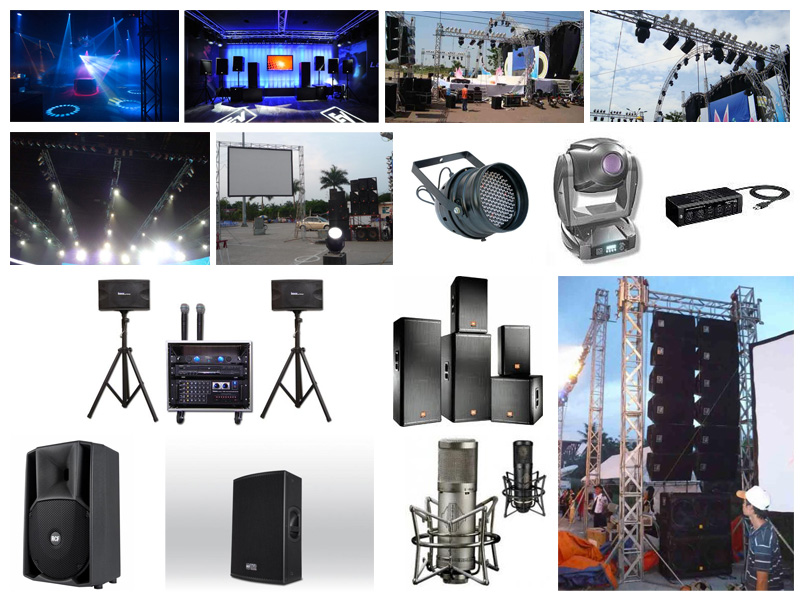 Các thiết bị cơ bản cho dàn nhạc sống