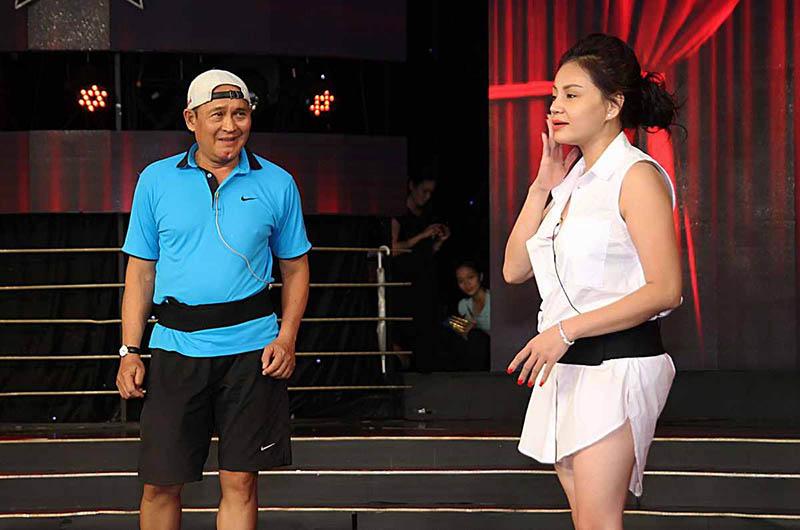 Cả 2 bén duyên khi cùng diễn chung sân khấu