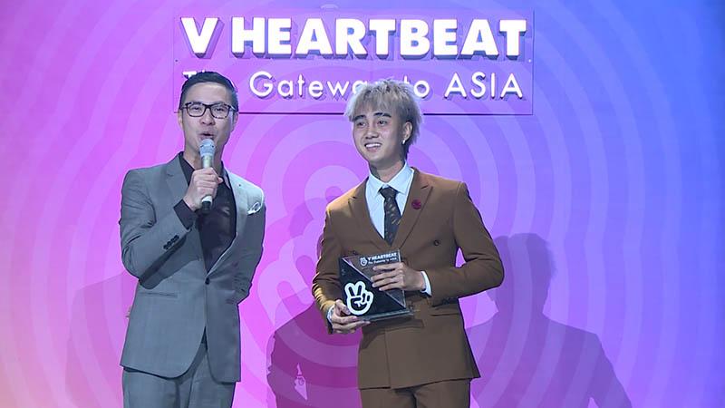 Mới đây trong lễ trao giảiV-heartbeat vào tháng 10-2018, Đạt G lại bị trao nhầm cúp.