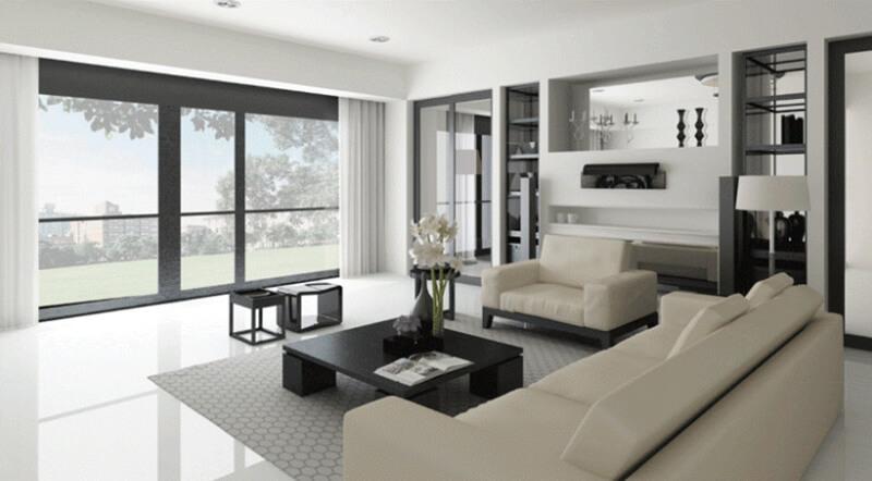 Sử dụng nội thất thông minh sẽ giúp cho phòng khách trở nên sang trọng và tiện lợi hơn