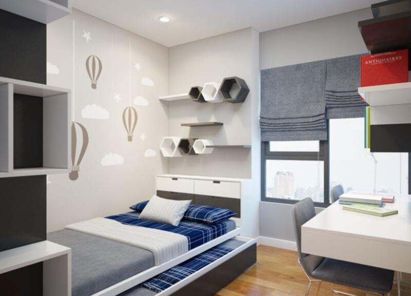 Thiết kế nội thất tiện ích thông minh cho phòng ngủ thêm đa chức năng