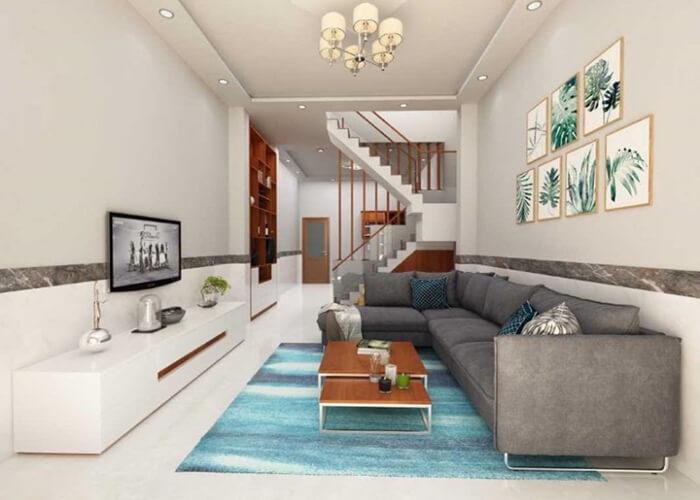 Ứng dụng nội thất thông minh khi thiết kế nhà nhỏ đẹp đơn giản